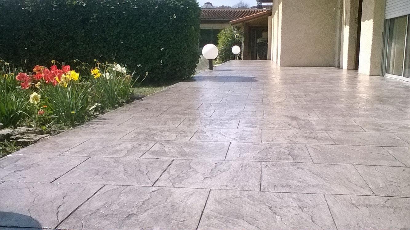 beton decoratif piscine cheap terrasse piscine beton cire. Black Bedroom Furniture Sets. Home Design Ideas